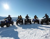 Arctic Cat Quad bike ride in the mountains