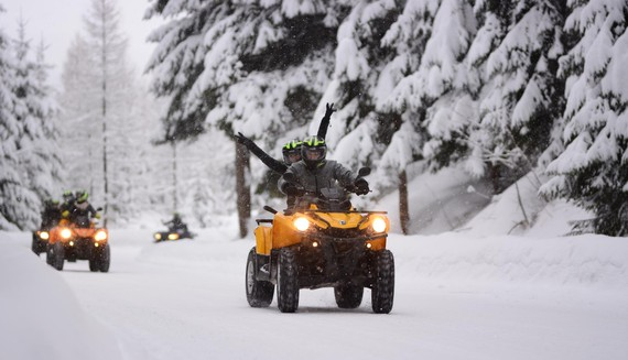 WINTER QUAD BIKES