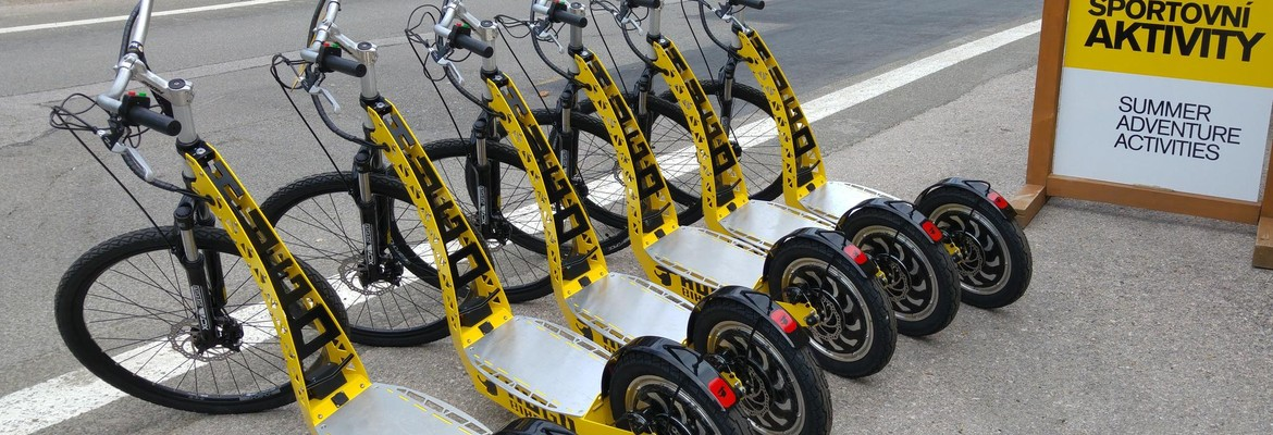 Electric scooters - Yellow Point